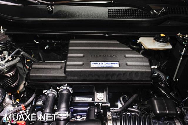 dong co xe honda crv 2021 muaxe net - Đánh giá Honda CRV 2021, Crossover 7 chỗ bán chạy nhất Việt Nam