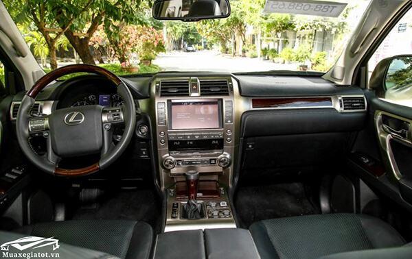 Nội thất Lexus GX460 2019-2020