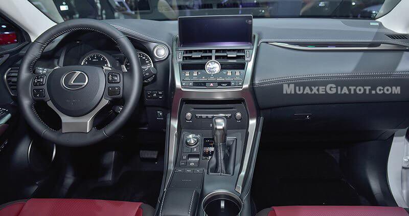 Nội thất Lexus NX300 2019-2020