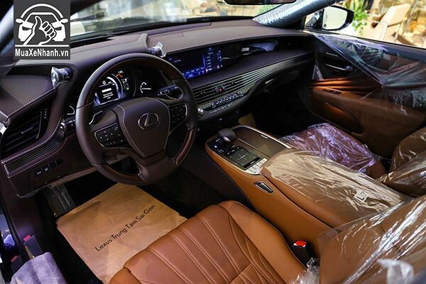 Nội thất xe Lexus LS500h 2019-2020