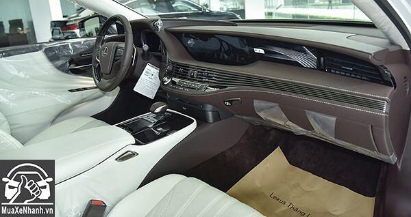 Nội thất xe Lexus LS 500 2019-2020