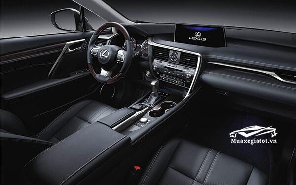 Nội thất xe Lexus RX 450h 2019-2020