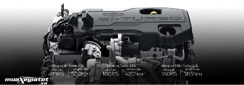 dong co xe ford ranger 2021 Wildtrak 20 4x4 muaxegiatot vn - Đánh giá xe Ford Ranger Wildtrak 2021, Phiên bản được ưa thích nhất
