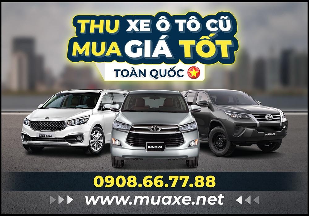 banner muaxe net 800 - Dịch vụ thu mua xe Ô tô cũ Giá cao - Uy tín - Nhanh chóng toàn quốc